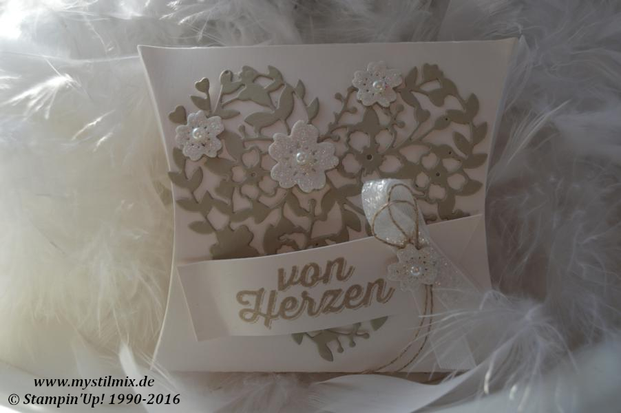 Hochzeitsdeko Pillow Box