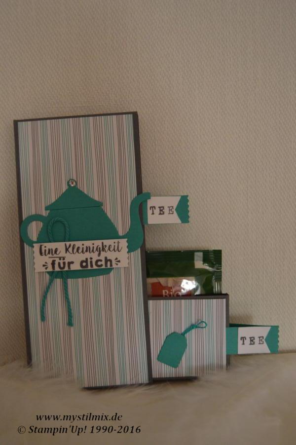 Teeverpackung Januar