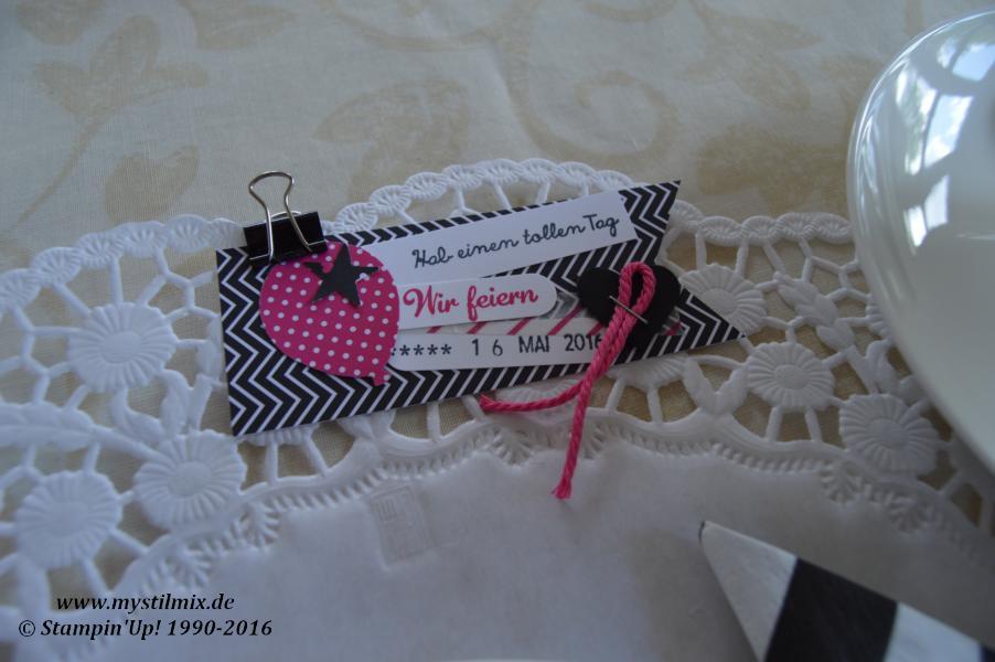 Geburtstagsdeko-Pink mit Pep-Stampin up-Framelits Pflanzen Potpourri5