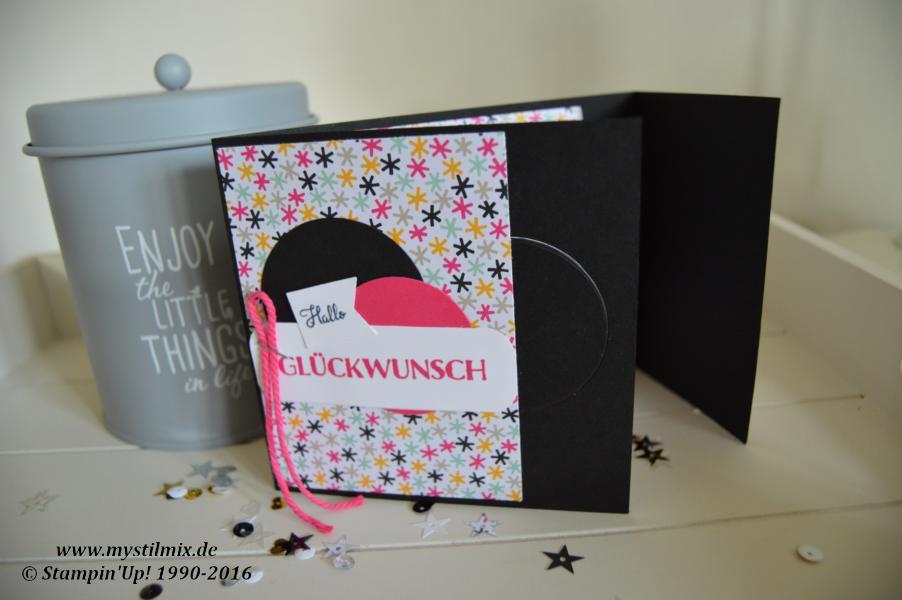 Stampin up-Kino-Gutscheinkarte-Papier Meine Party-Bannerweise Grüße3