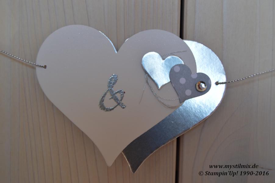 Stampin up-Hochzeitsgirlande-Von Herz zu Herz-MyStilmix2