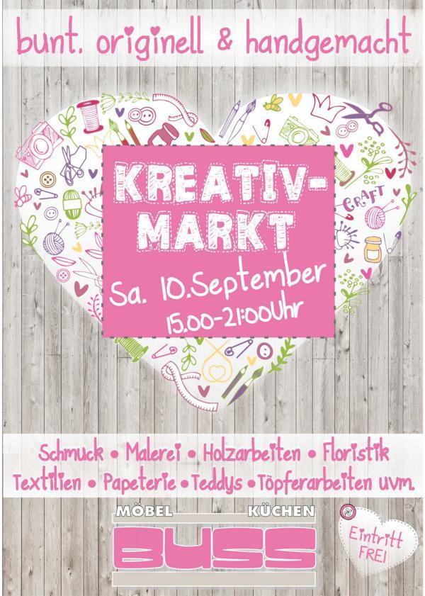 Plakat Kreativ Markt