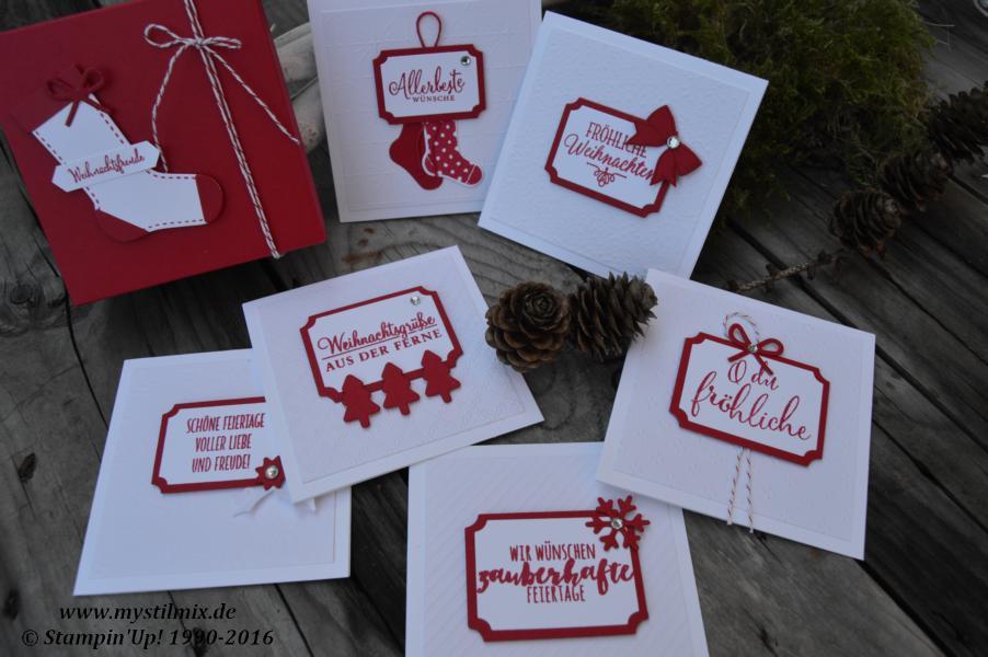 stampin up weihnachtskarten plus verpackung mystilmix. Black Bedroom Furniture Sets. Home Design Ideas