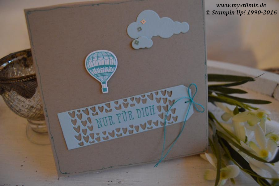 Stampin up-Shadowbox-Thinlits In den Wolken-Stempelset Abgehoben-MyStilmix1