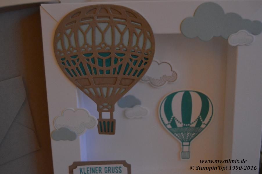 Stampin up-Shadowbox-Thinlits In den Wolken-Stempelset Abgehoben-MyStilmix2