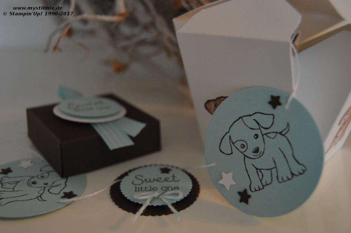 Stampin up-Baby-Verpackung-Girlande-Little Cuties-MyStilmix2