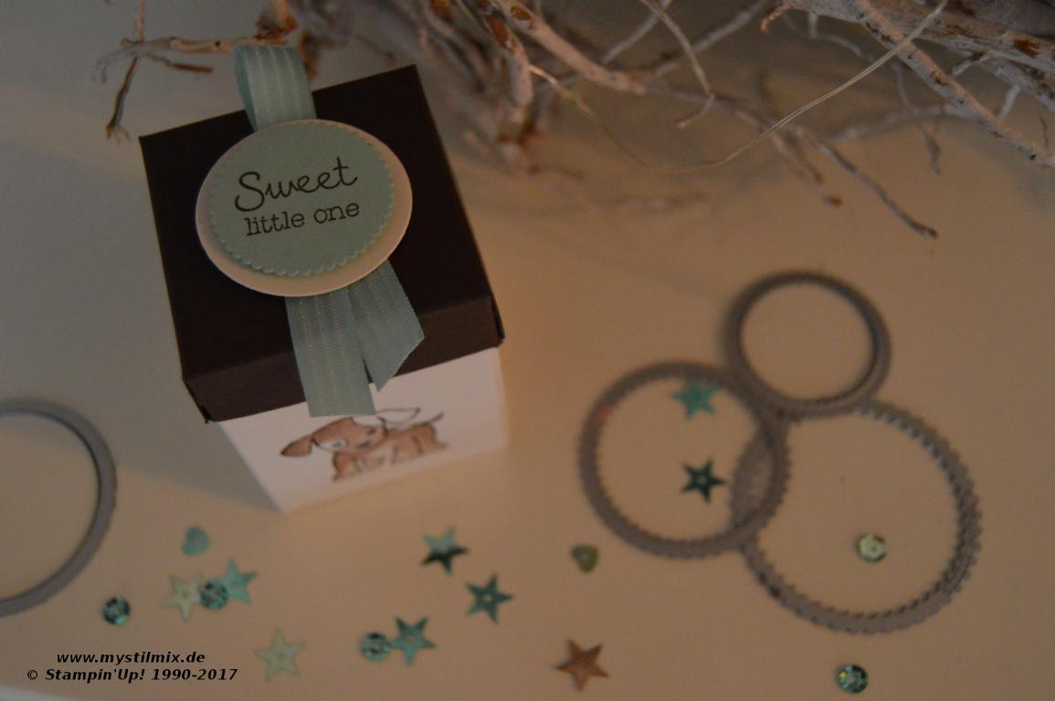 Stampin up-Baby-Verpackung-Girlande-Little Cuties-MyStilmix1