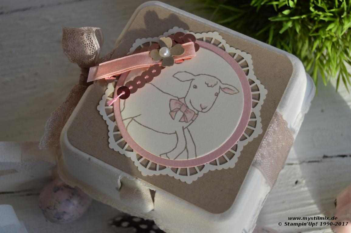 Stampin up - Eierkarton - Stempelset Little Cuties - MyStilmix1