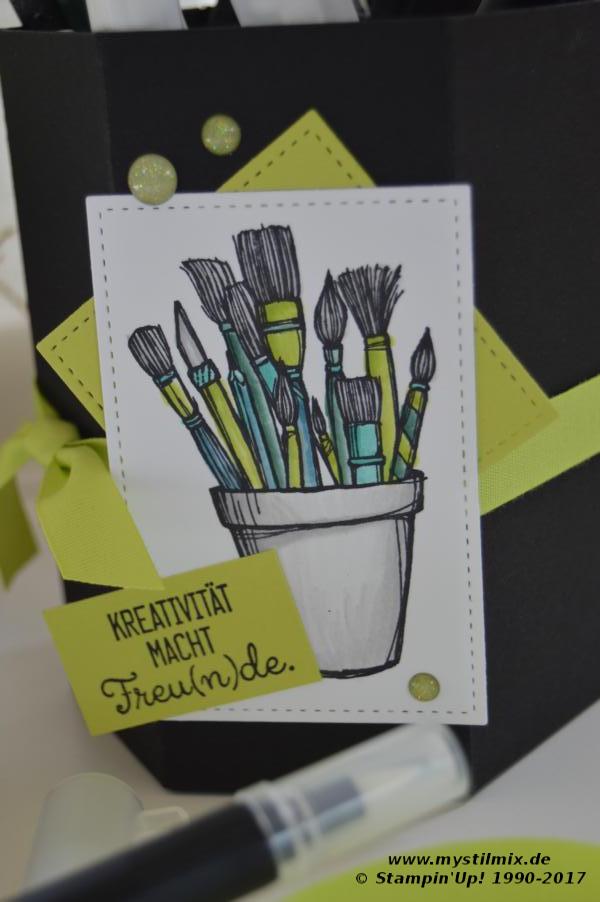 Stampin up - Stiftebox - Kreiert mit Liebe - MyStilmix2