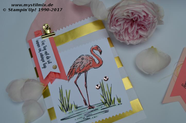 Stampin up - Flamingo-Fantasie - MyStilmix5