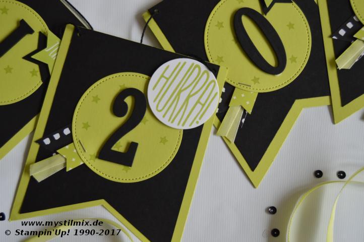 Stampin up - Abideko - Framelits Große Buchstaben u. große Zahlen - MyStilmix2