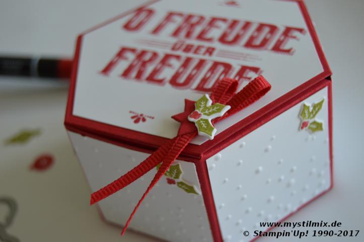 Stampin up - Weihnachtsprojekt3 - Wie ein Weihnachtslied - MyStilmix3