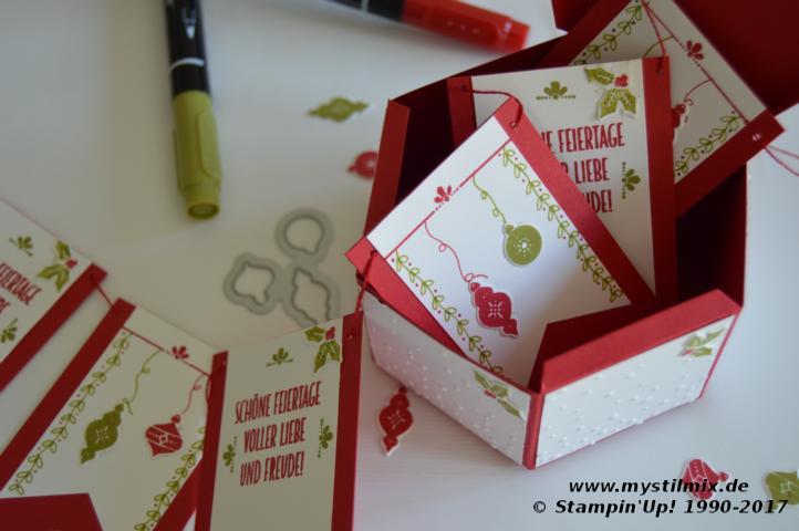 Stampin up - Weihnachtsprojekt3 - Wie ein Weihnachtslied - MyStilmix5