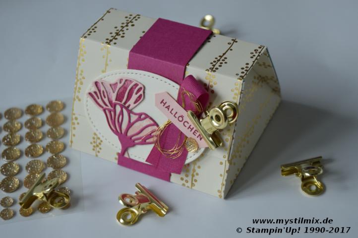 Stampin up - Verpackungsbox - Bunt gemischt - MyStilmix1