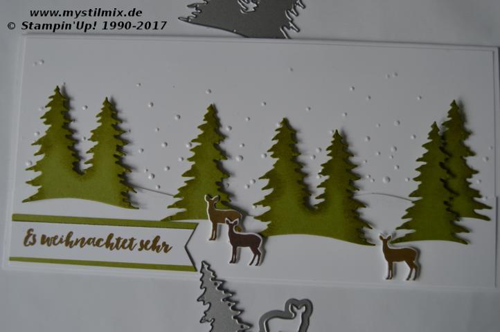 Stampin up- Weihnachtsprojekt1 - Wie ein Weihnachtslied - MyStilmix