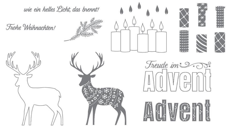 Stampin up - Freude im Advent - Teelicht - MyStilmix1