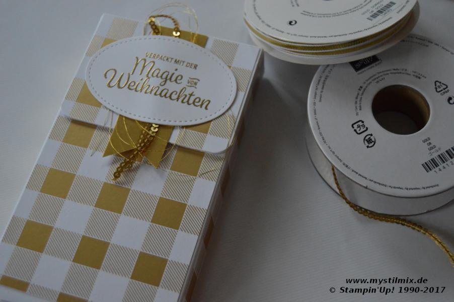 Stampin up - Anhängerverpackung - Winterfreuden - Winterwunder - MyStilmix