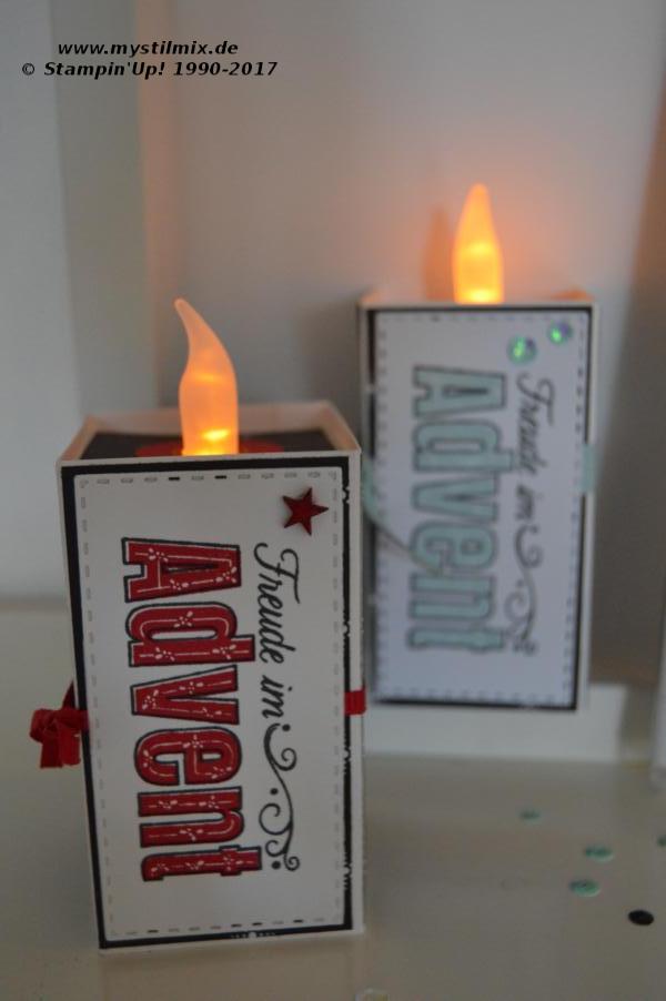 Stampin up - Freude im Advent - Teelicht - MyStilmix3