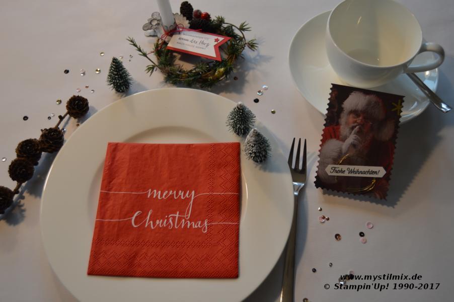 Stampin up - Weihnachtsdeko - MyStilmix1