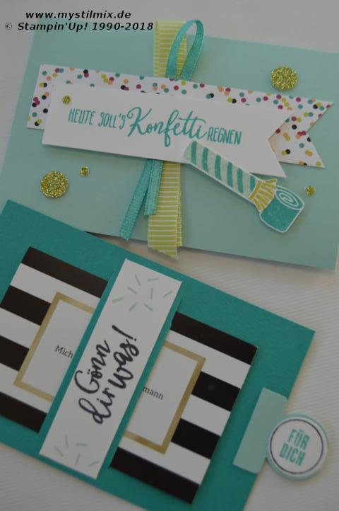 Stampin up - Gutscheinverpackung - Perfekter Geburtstag - Kurz gefasst - MyStilmix2