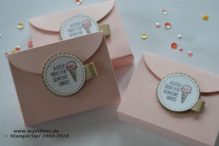 Stampin up - Kleine Verpackung - Schachtel voller Liebe - MyStilmix2
