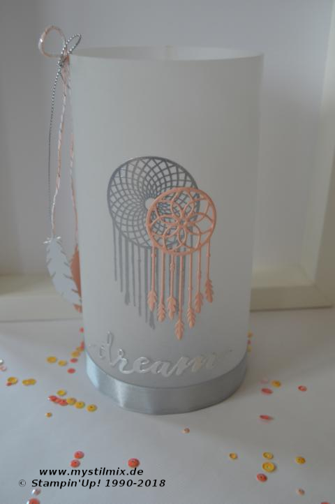 Stampin up - Windlicht - Follow your dreams - MyStilmix