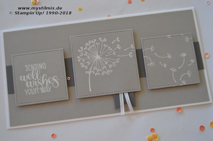 Stampin up - Grußkarte - Dandelion wishes - MyStilmix