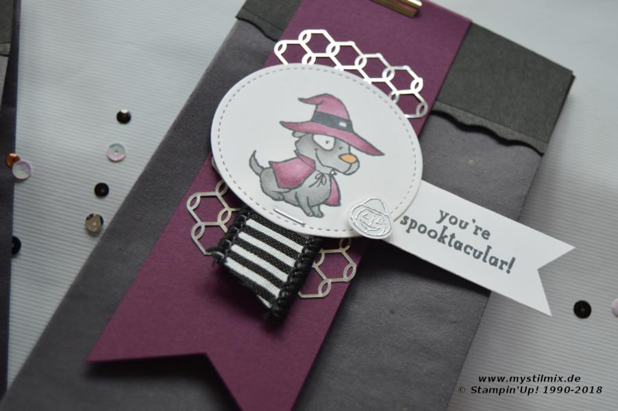 Stampin up - Halloween Tüte - Trick or Tweet - MyStilmix3