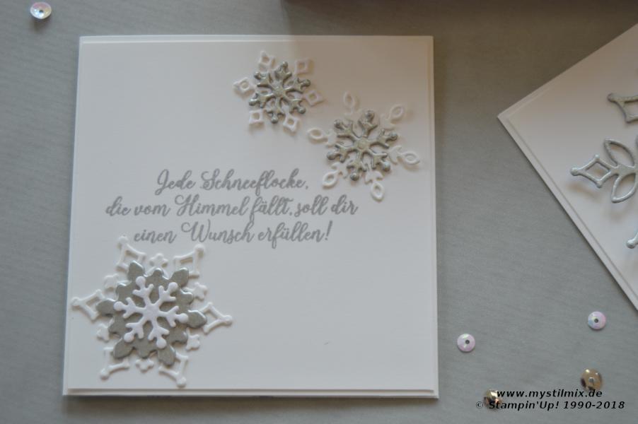 Stampin up - Schneegestöber - Wintermärchen - MyStilmix5