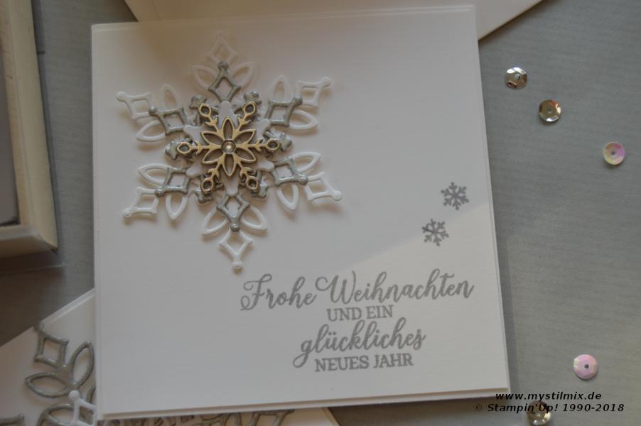 Stampin up - Schneegestöber - Wintermärchen - MyStilmix4