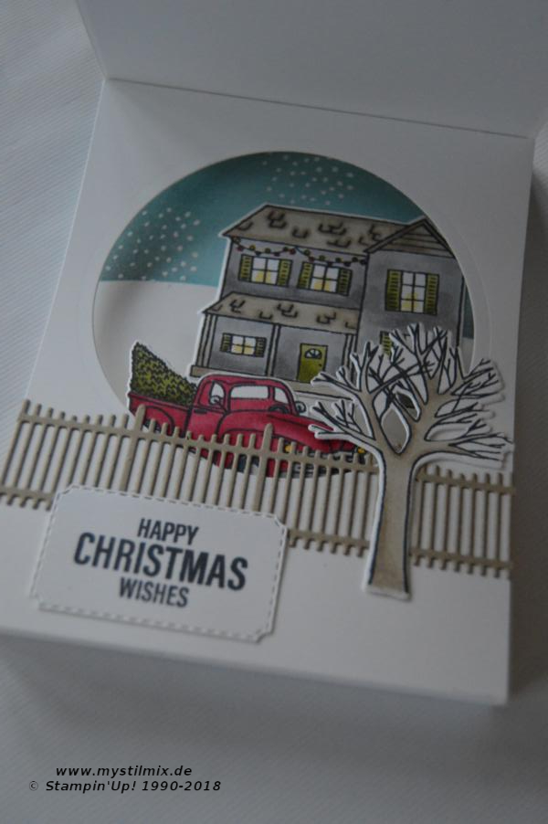 Stampin up - Farmhouse Christmas - Weihnachtskarte - MyStilmix2