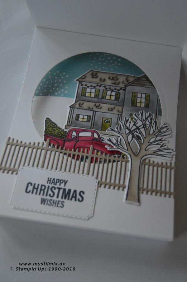 Stampin up - Farmhouse Christmas - Weihnachtskarte - MyStilmix2