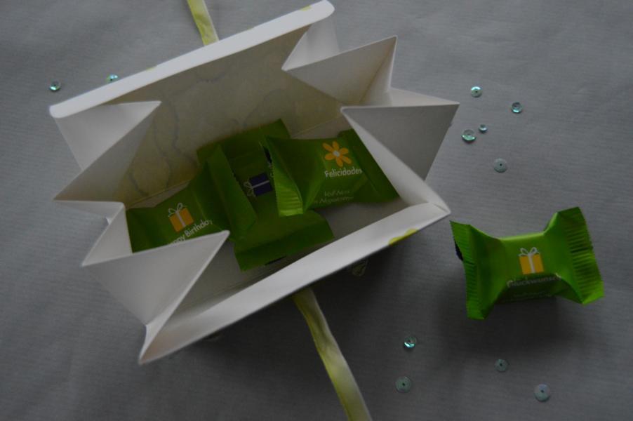Stampin up - Dreieckschachtel - Wortreich - MyStilmix2