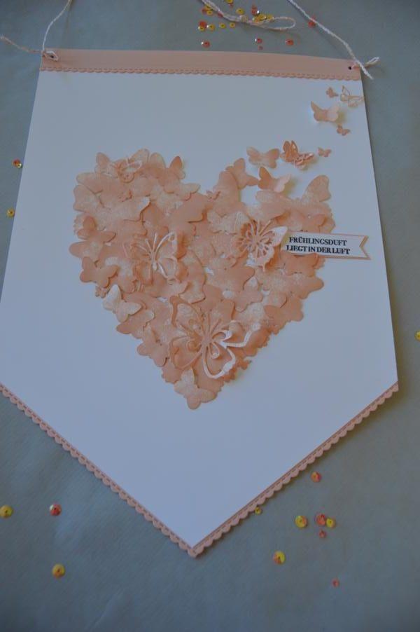 Stampin up- Schmetterlinge - Wimpel - Schmetterlingsduett - MyStilmix1