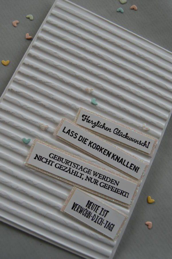 Stampin up - Geburtstagskarte - Geburtstagsmix - MyStilmix