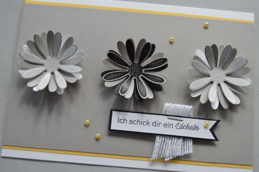 Stampin up - Gänseblümchenglück - Stanze Mittelgrosses Gänseblümchen - MyStilmix