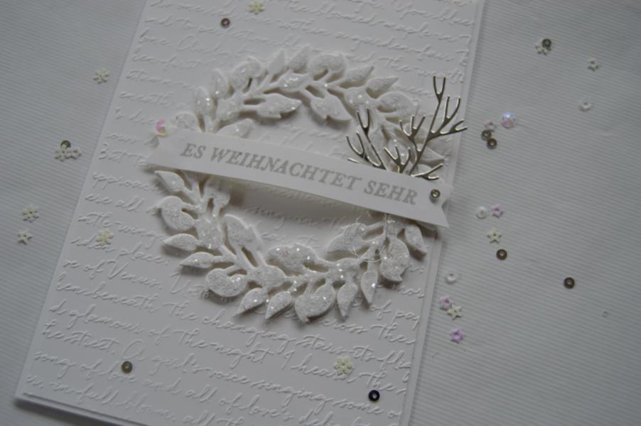 Stampin up - Weihnachtskarte - Kranz voller Freude - Grüner Kranz - MyStilmix