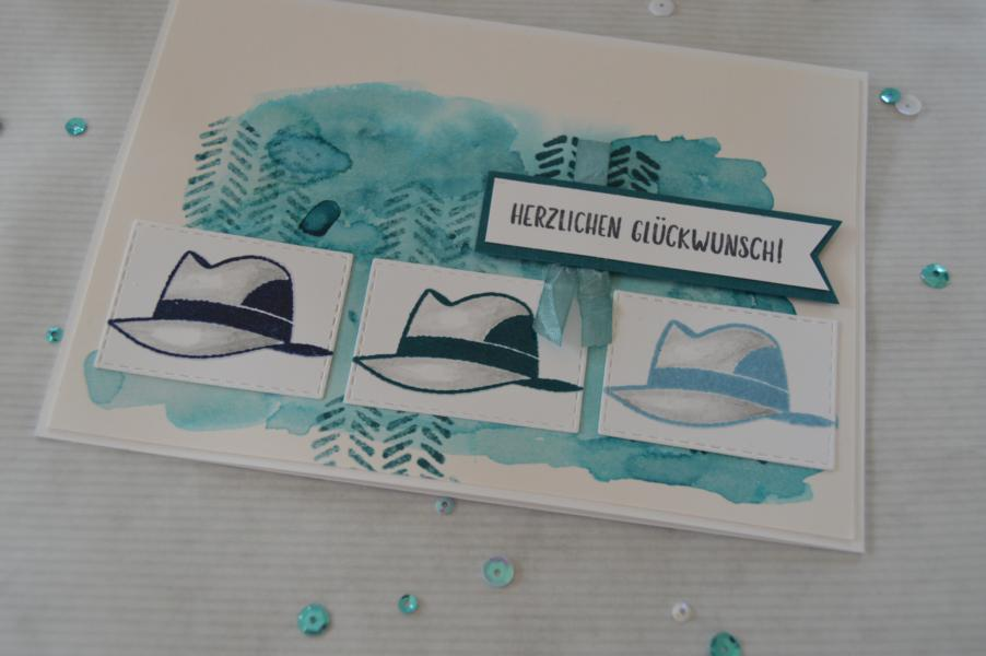 Stampin up - Männergeburtstagskarte_1 - Well dressed - MyStilmix